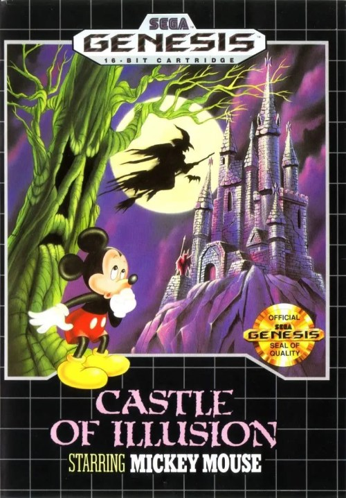 Castle of Illusion Starring Mickey Mouse for Sega Genesis