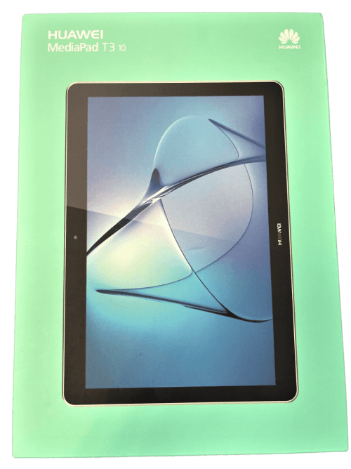 """Huawei MediaPad T3 10 Tablet with Case (9.6"""", 16 GB, Space Grey) (AGS-L03)"""