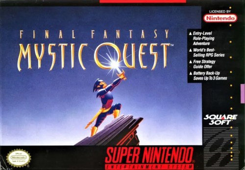 Final Fantasy Mythic Quest for Super Nintendo Entertainment System (SNES)