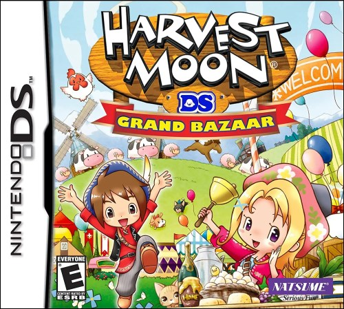 Harvest Moon DS: Grand Bazaar for Nintendo DS