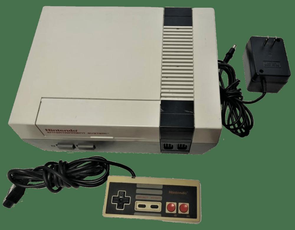 Nintendo Entertainment System (NES) (NES-001)