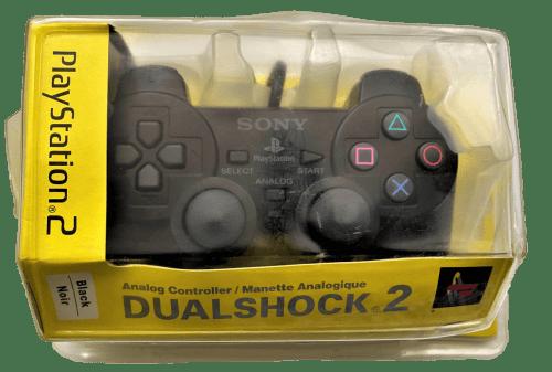 Sony PlayStation 2 Dualshock 2 Analog Controller (Black) (SCPH-10010U/97026)