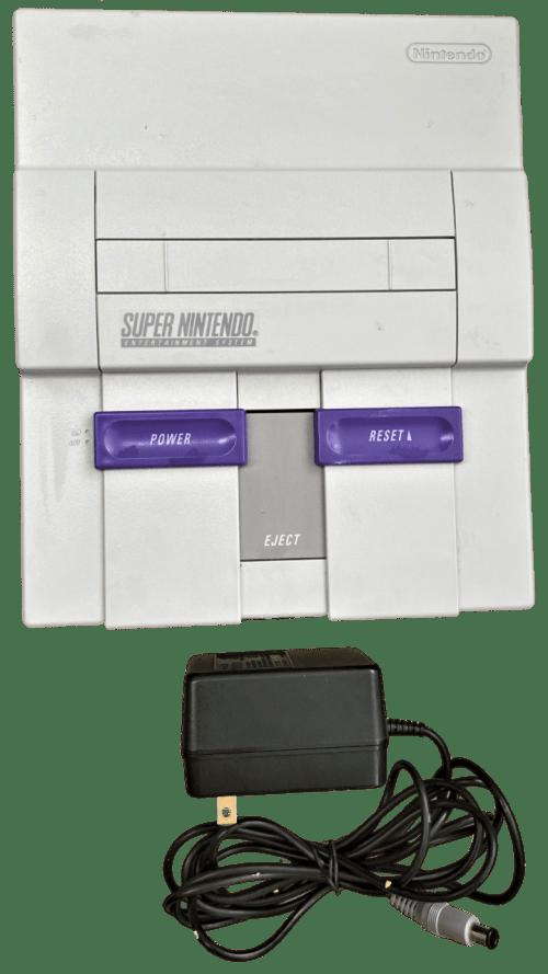 Super Nintendo Entertainment System Control Deck (SNS-001)