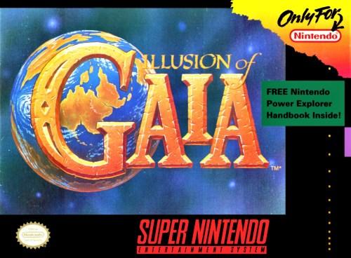 Illusion of Gaia for Super Nintendo Entertainment System (SNES)