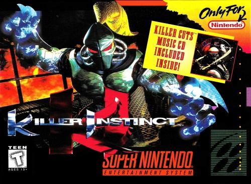 Killer Instinct for Super Nintendo Entertainment System (SNES)