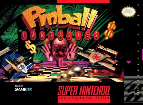 Pinball Fantasies for Super Nintendo Entertainment System (SNES)