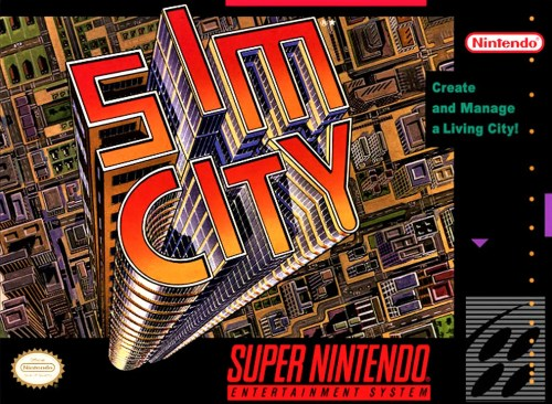 Sim City for Super Nintendo Entertainment System (SNES)