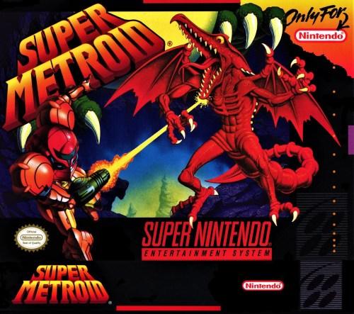 Super Metroid for Super Nintendo Entertainment System (SNES)