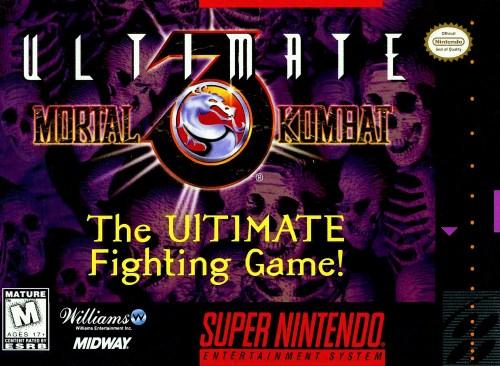 Ultimate Mortal Kombat 3 for Super Nintendo Entertainment System (SNES)