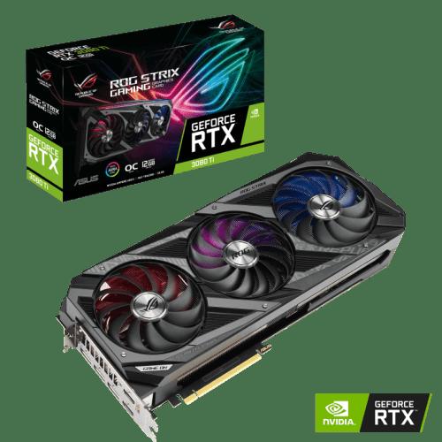 ASUS ROG Strix GeForce RTX 3080 Ti OC Edition Graphics Card (ROG-STRIX-RTX3080TI-O12G-GAMING)