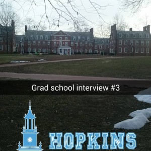 Graduate school visits typically happen after you've applied to but before you've been accepted to a program.