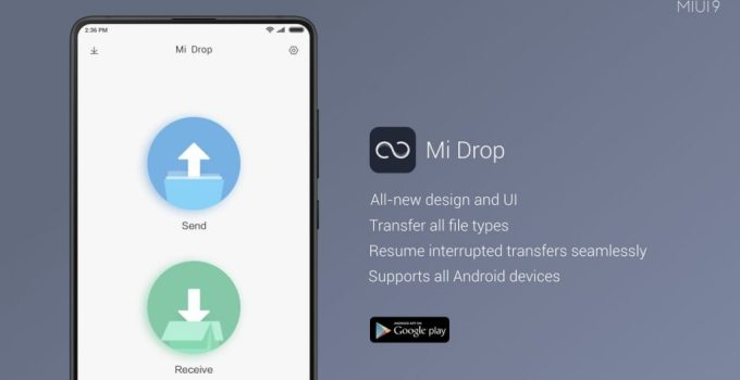 Mi Drop for PC – Download On Windows 7, 8, 10 and MAC