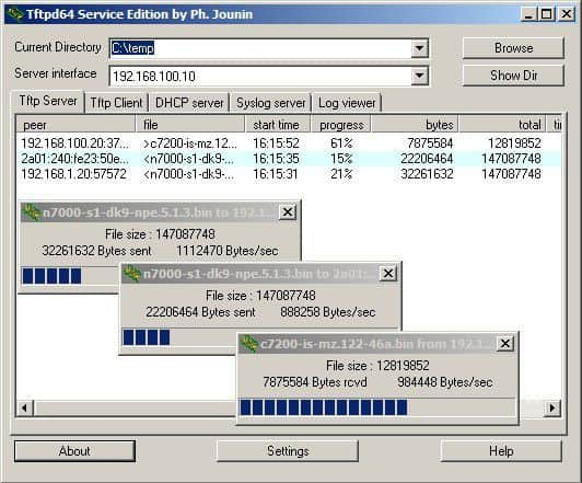 Top 10 Free Tftp Servers For Windows 7 2008 And 2012 R2