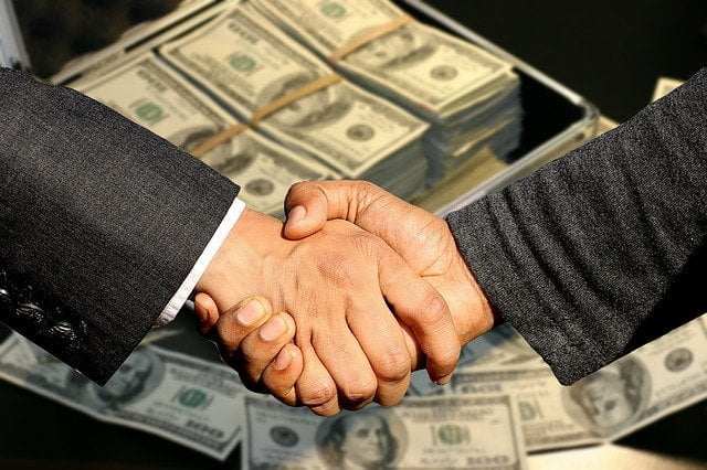 Cierre de una negociación o contrato, acuerdo