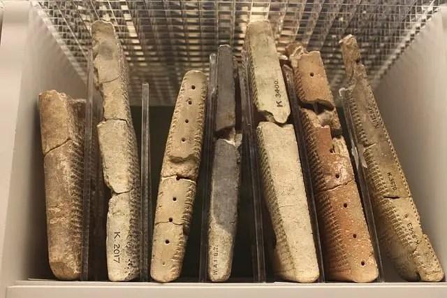 Tablillas, escritura cuneiforme Mesopotamia