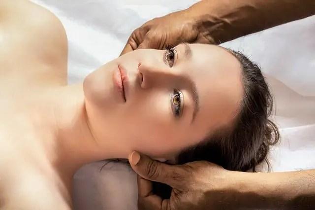 El negocio de masajes corporales