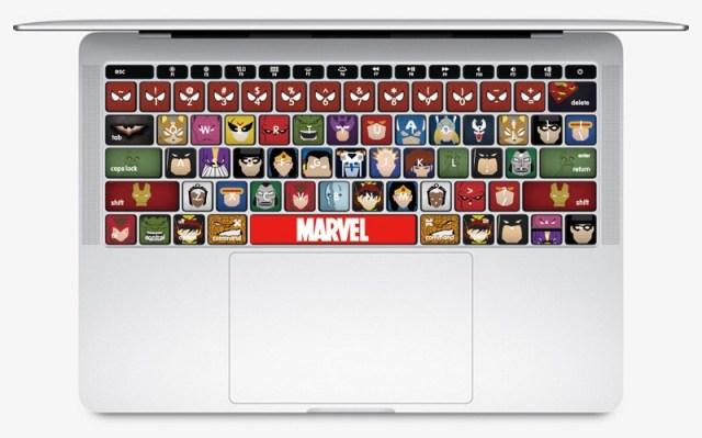 Macbook Keyboard Sticker & protector Image