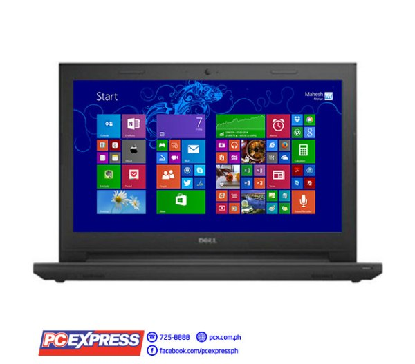 "Dell Inspiron 14 3442-I54210U Intel Core i5 14"" Touch GeForce 820M Windows 8.1 Laptop (Black)"