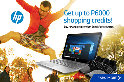 HP's FREE SneakPeek Shopping Credit Promo