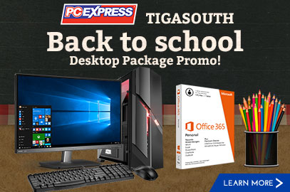 TIGA South Back to School Promo