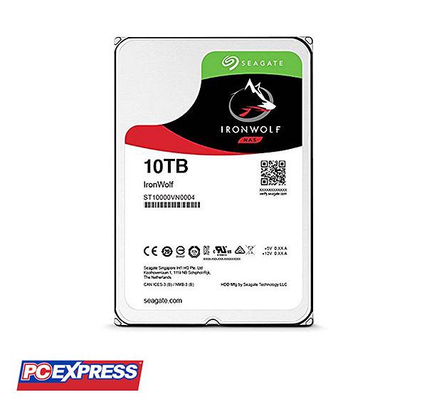 Seagate 10TB SATA IronWolf NAS Hard Drive (ST10000VN0004)