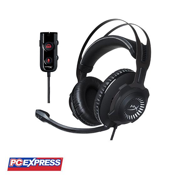 Kingston Hyper X Cloud Revolver S Black Gaming Headset