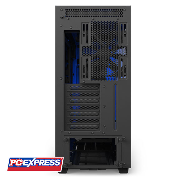 Nzxt H700i Cam Powered Premium Mid Tower Case Matte Black Blue