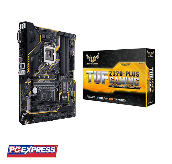 Asus TUF Z370-PLUS Gaming Intel Z370 Aura Sync RGB Motherboard