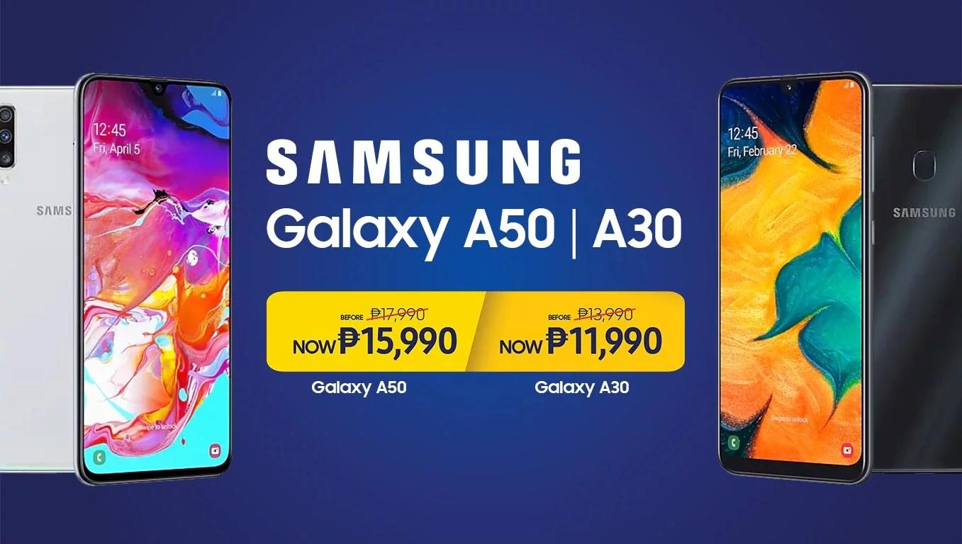samsung galaxy a50 promo