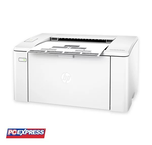 Hp Laserjet Pro M102a Printer Pc Express