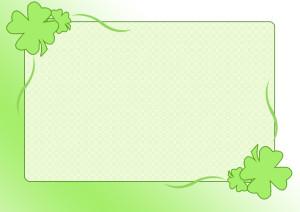 黄緑のフレーム4