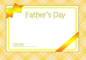 父の日カード4