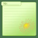 向日葵のカード1