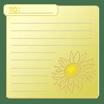 向日葵のカード4