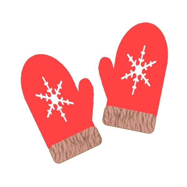 手袋のイラストミトン3種類pd Present Pd Present