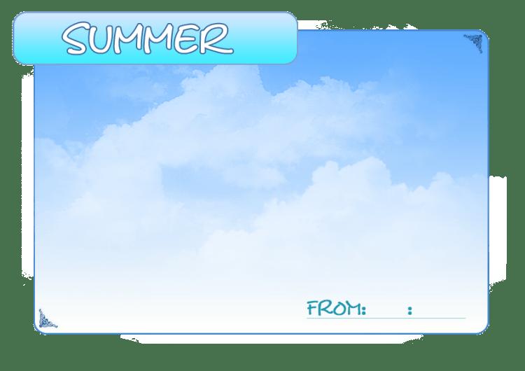 夏のフレーム2