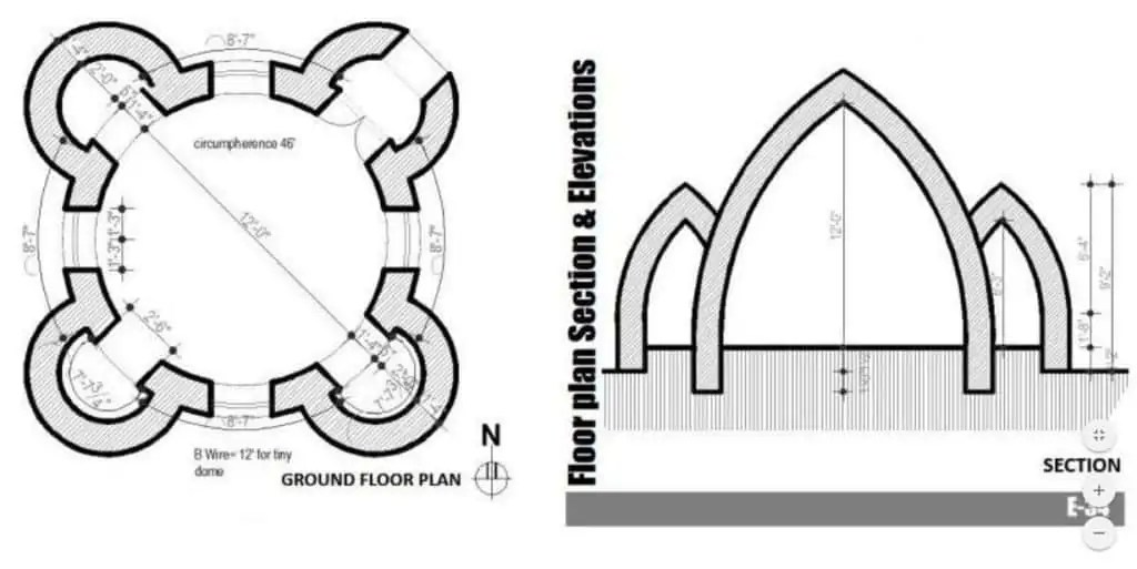 The plan of Superadobe