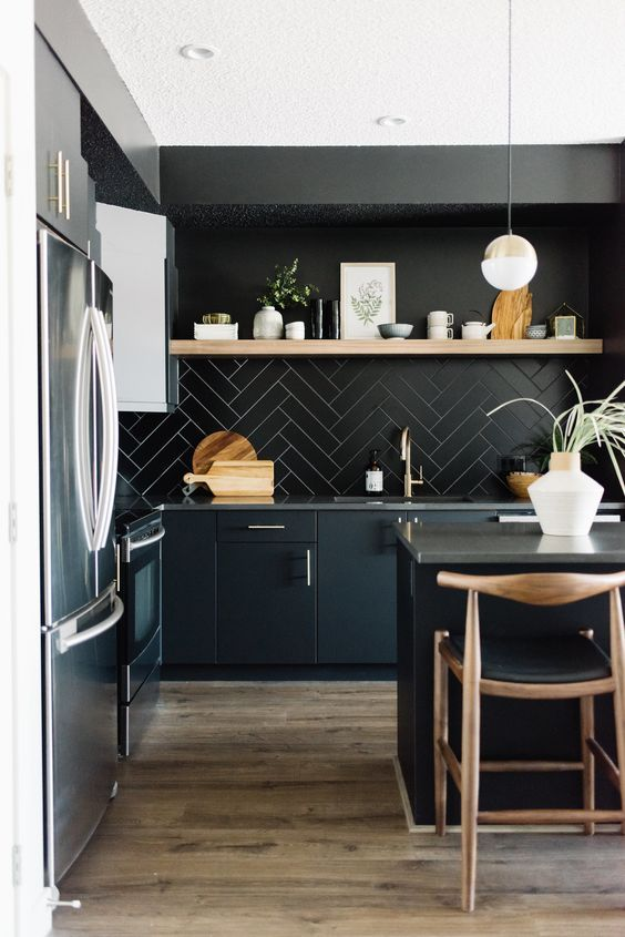HOT BLACK KITCHENS