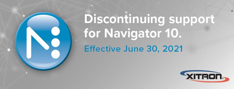 Unterstützung für Navigator 10 endet
