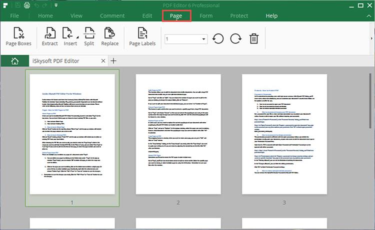 edit pdf pages