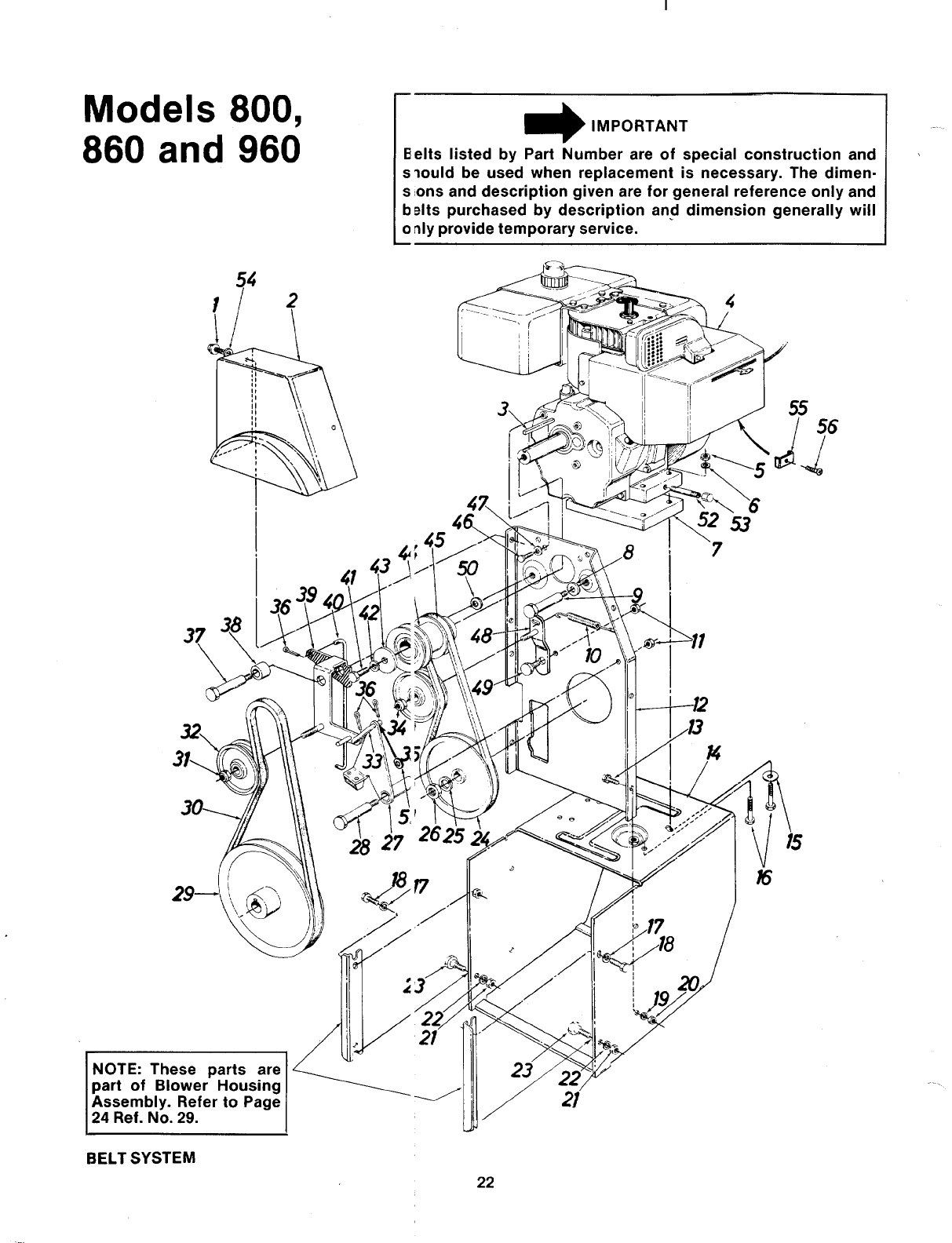 Page 22 Of Mtd Snow Blower 315 860 000 User Guide