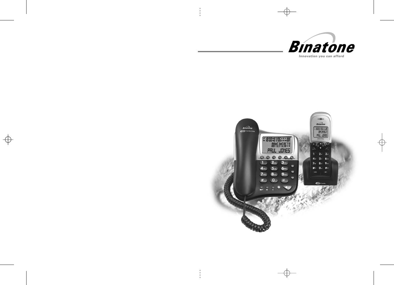 Binatone Cordless Telephone User Guide