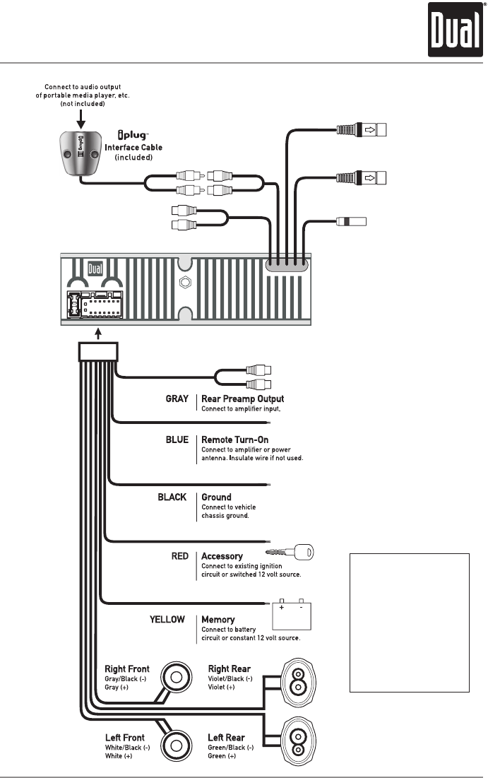 dual radio wiring diagram - Wiring Diagram