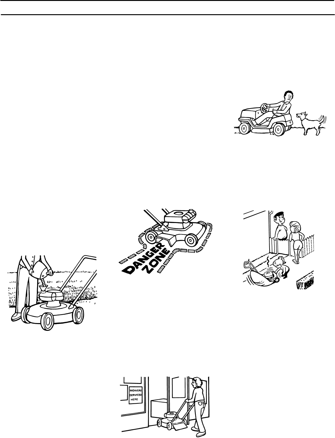 Page 6 Of Murray Lawn Mower X48a User Guide