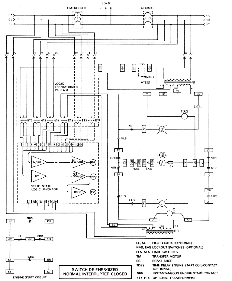 Westinghouse Transfer Switch Wiring Diagrams