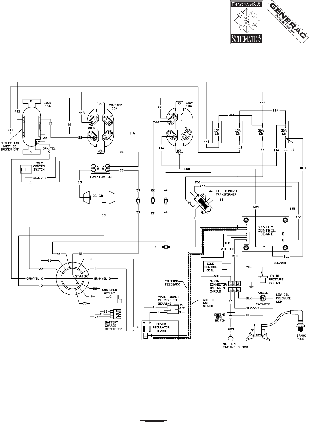 Generac Transfer Switch Wiring Schematic Three Way Switch
