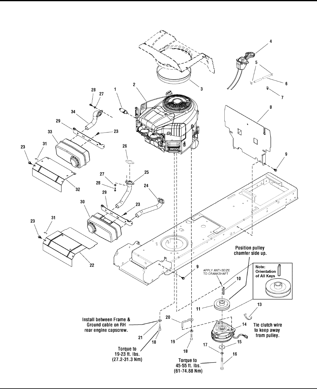 Page 8 Of Simplicity Lawn Mower 18hp User Guide
