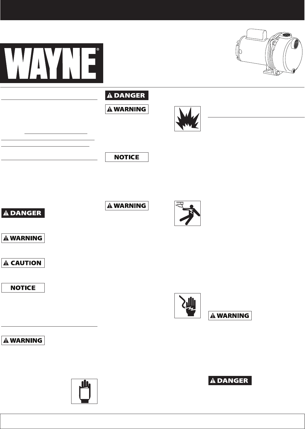 Wayne Sprinkler Wls200 User Guide