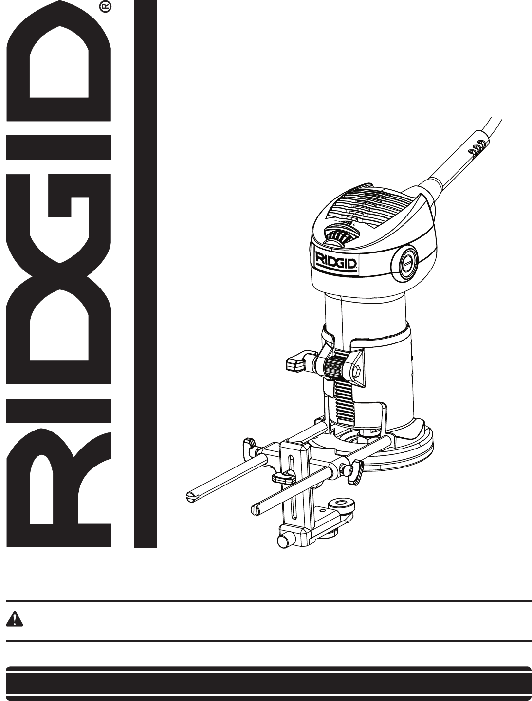 Ridgid Trimmer R User Guide