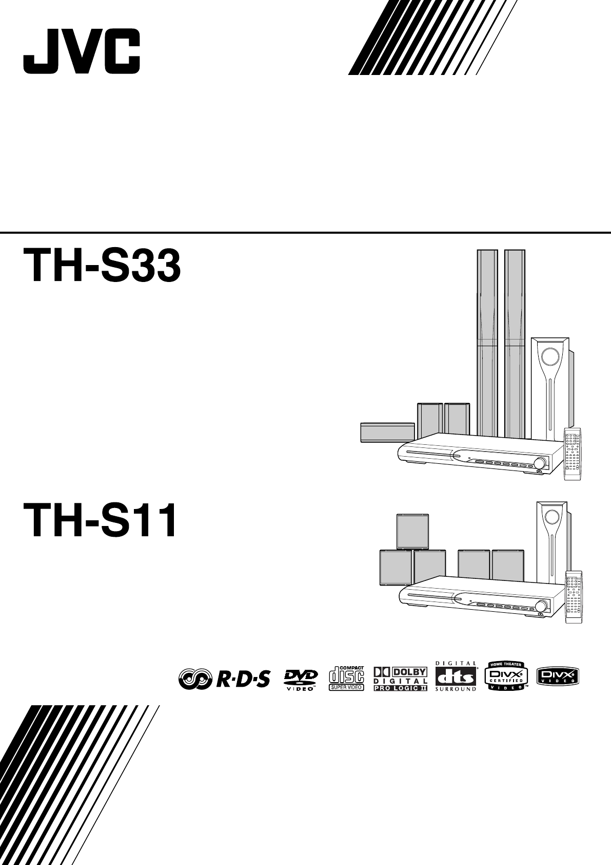 Jvc Home Theater System Xv Ths11 User Guide